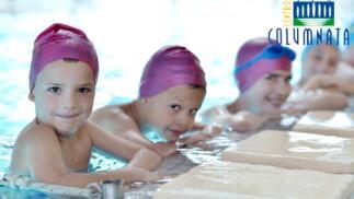 1 mes de clases de natación para niños en Spa Columnata