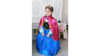 Disfraz inspirado en la princesa Anna, Frozen