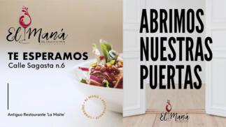 ¡Ven a conocer el Restaurante El Maná, nuevo en Logroño!
