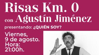 """Cena con Monólogos. AGUSTÍN JIMÉNEZ presenta: """"¿Quién soy?"""""""
