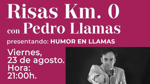 """Cena con Monólogos. PEDRO LLAMAS presenta: """"Humor en llamas"""""""