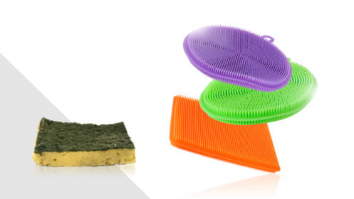 Pack de 3 esponjas flexibles