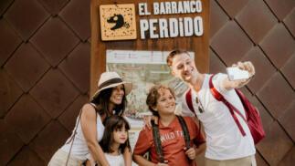 """""""El Barranco Perdido""""  con tus hijos al 50% de descuento"""