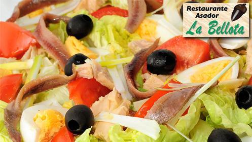 Menú de sidrería en Restaurante Asador La Bellota