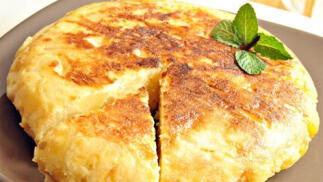 Prueba la exquisita tortilla de patata del New Boston