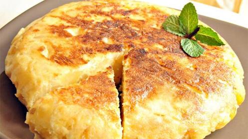 Descubre el exquisito sabor de la tortilla de patata del New Boston