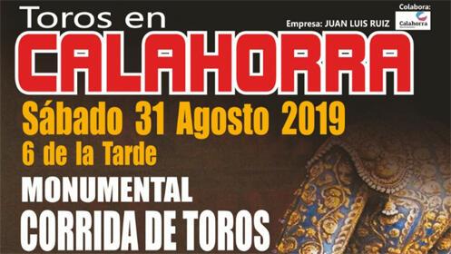 Toros en Calahorra: 31 de agosto. Compra tu entrada