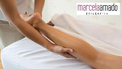 Masaje descontracturante de espalda y piernas cansadas