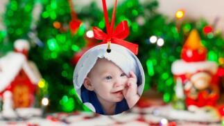 Decora tu árbol de Navidad con bolas personalizadas