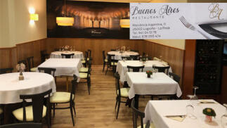 Menú especial en Restaurante Buenos Aires