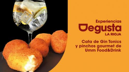 Cata de Gin Tonics y pinchos gourmet de Umm Food&Drink