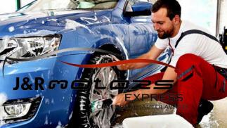 Limpieza integral de vehículo con desinfección y ozonización