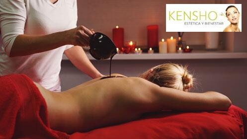 Oferta peeling corporal de chocolate en Kensho. Nutre e ilumina tu piel
