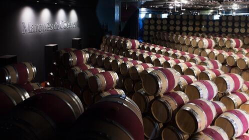 Visita Marqués de Cáceres. Disfruta de una exclusiva cata con vinos premium de la bodega