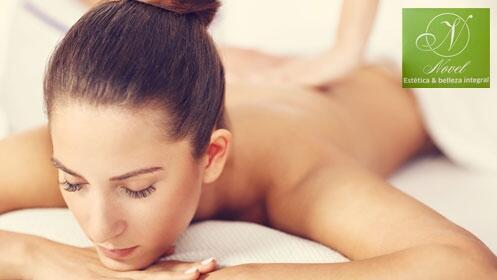 Peeling e hidratación de espalda. Luce una piel suave y bonita