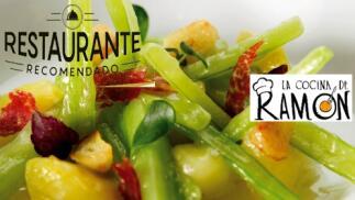 Menú especial de las verduras de La Cocina de Ramón