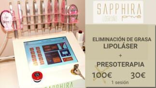Elimina grasa con esta sesión de tratamiento reductor en Sapphira Prive