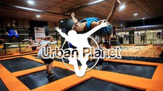 ¡Descubre Urban Planet! Parque de camas elásticas para divertirse y practicar deporte