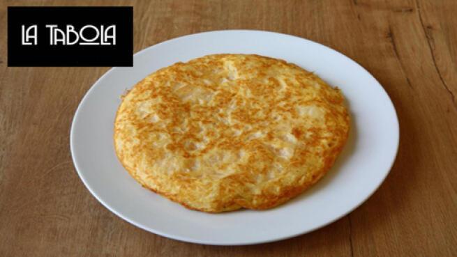 Prueba la exquisita tortilla de La Tabola Gastrobar
