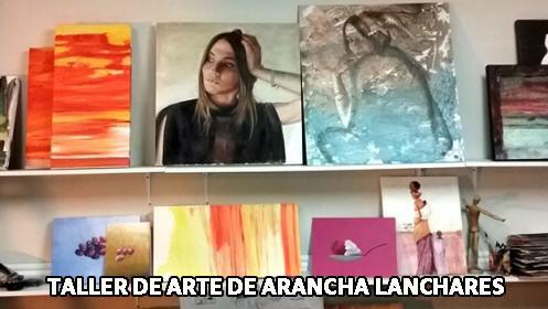 Curso de pintura para niños en Arancha Lanchares