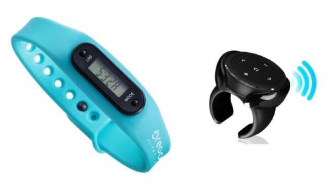 Control remoto para móvil + pulsera de actividad