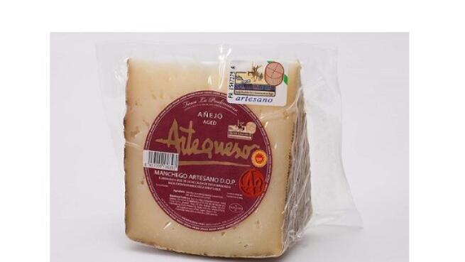 Queso Manchego 100% Certificado D.O.P Curado, Semicurado, en Aceite y Añejo: 0.5kg, 1kg o 3.5kg
