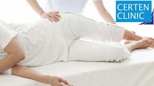 Sesión de valoración de fisioterapia más masaje terapéutico de 45 minutos en Certen Clinic