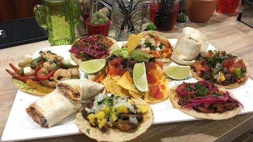 Prueba la mejor comida mexicana en La Katrina
