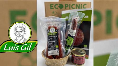 Lote de productos ecológicos de Embutidos Luis Gil
