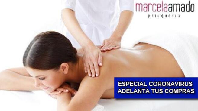 Masaje descontracturante de espalda y piernas cansadas, cuida tu salud