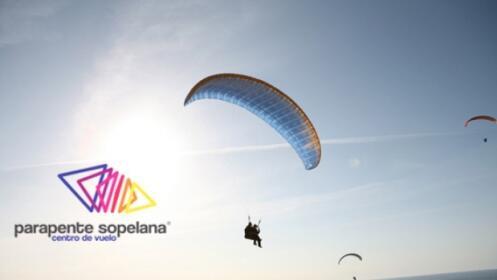 Este verano: vuelo en parapente y grabación de vídeo por 55€