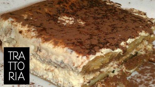 Menú completo italiano en Restaurante La Trattoría